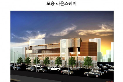 [도면] 평택 포승 '라온스퀘어' 주차장빌딩 임대현황